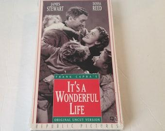 It's A Wonderful Life VHS Tape