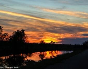 Bayou Folse Sunset