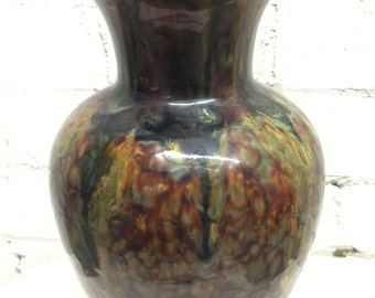 Zsolnay Fanous Hungarian Granite Vase - Unique