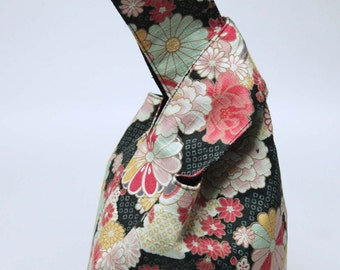 Handmade bag Japanese knot