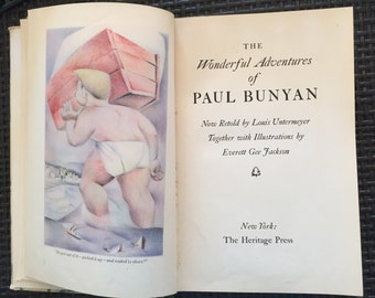 The Wonderful Adventures of Paul Bunyan