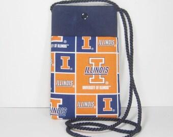 University of Illinois Amelia Boarding Pass and Passport Pouch