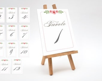 PLACEHOLDER WEDDING TABLES
