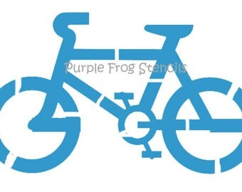 Bicycle  Stencil  Different Sizes Available  Reg and Commercial Grade, Bike