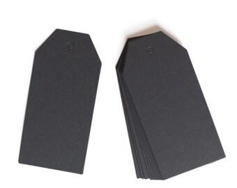Black Gift Tags (30)qty