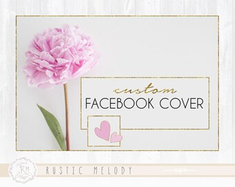 Facebook Cover and Profile Picture For Premade and Custom Logo Order
