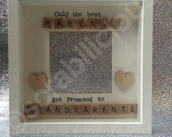 Scrabble Frame Parents Grandparents
