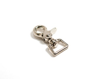 """3/4"""" Swivel Trigger Snap Hook – Nickel Plated"""