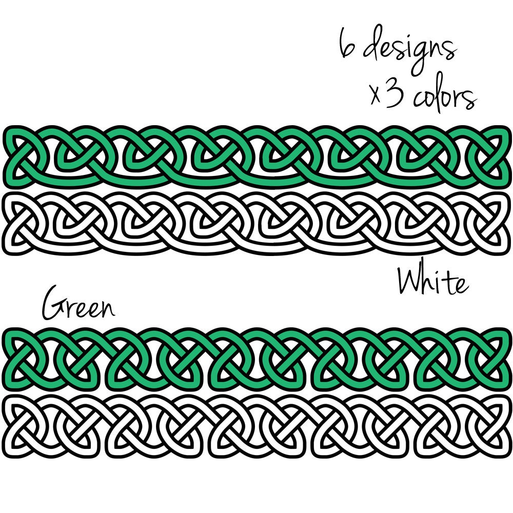 Celtic Borders Clip Art: Transparent, High-resolution PNG ...