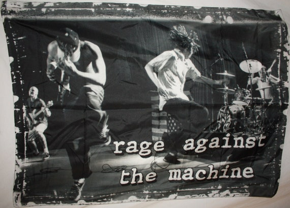 rage against the machine on wall