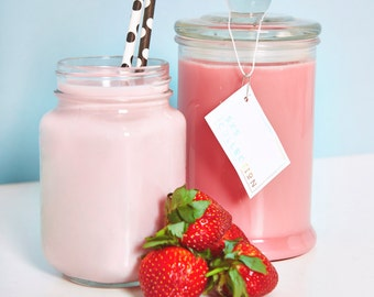 Strawberry Shortcake Scented Candle