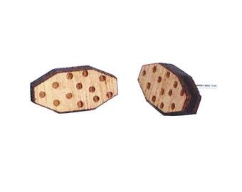 Long Hexagon Earrings Melbourne made