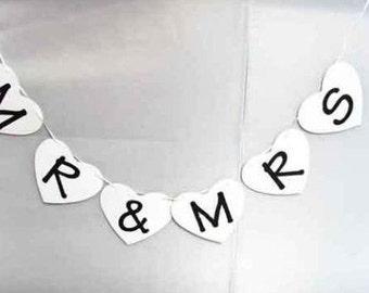 Handmade Wedding Banner