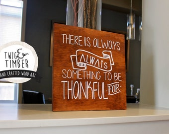 Thanksgiving Decor - Always Something - CUSTOM COLOR CHOICES