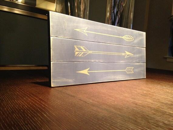 Arrows Sign - Two Tone - CUSTOM COLOR CHOICE