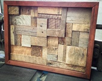 Reclaimed Lumber Art