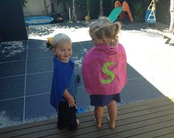 Kids Superhero Cape and Mask