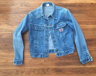 1970's Small GWG jean jacket