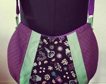 Purple potion baby bag