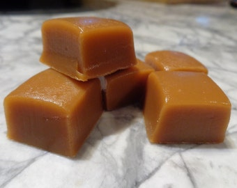 Soft and Chewy Caramels