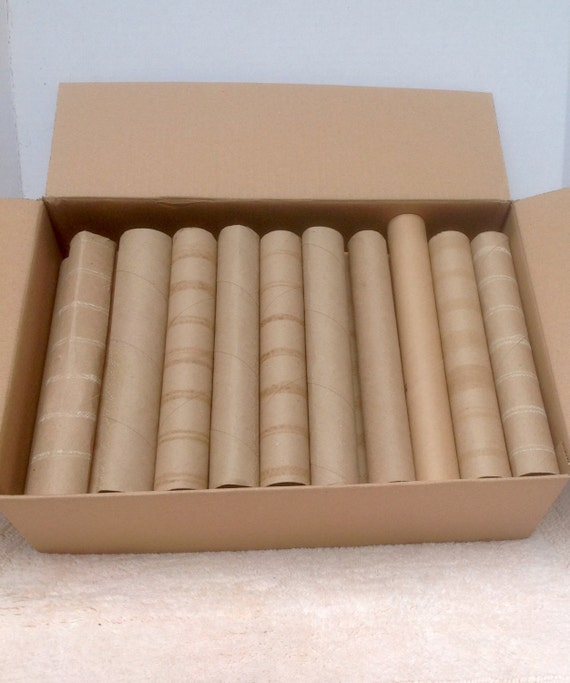 35 recycled paper towel rolls