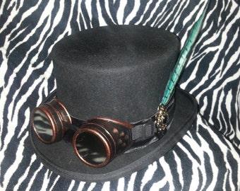 Mens Steampunk Top Hat