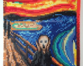 The Scream Beadsprite