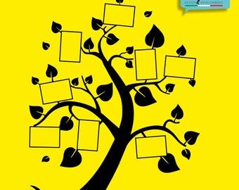 Tree Sticker frame