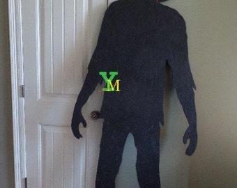 Halloween Zombie Silhouette