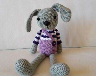 Rabbit long-eared crochet - Amigurumi