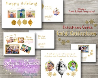 Christmas Card Template Pack