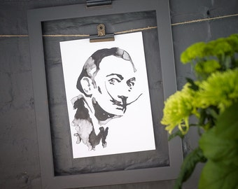 Salvador Dali Inkling print