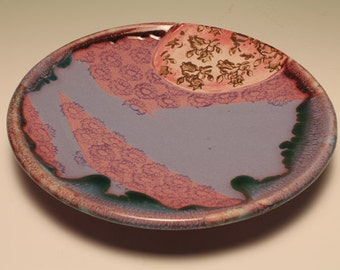 Set of 3 handmade ceramic plates