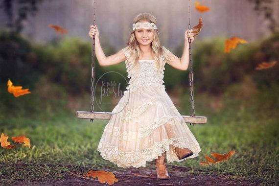 flower girl dress, flower girl dresses, lace baby dress, easter dress, rustic flower girl dress, lace flower girl dress, country flower girl