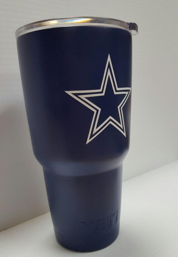 Dallas Cowboys Yeti 30oz Rambler