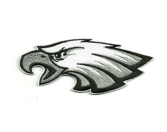 """Philadelphia Eagles * 4.5"""" inch * Embroidered * Iron / Sew on * Applique / Patch * FREE SHIPPING *"""