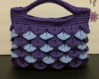 Crocodile Stitch Handbag CROCHET