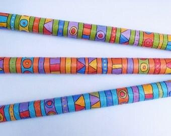 Paper Mache Rain Stick