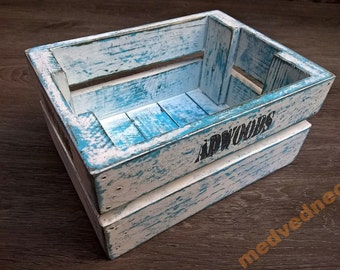 Wooden Box For Home Stuff Woodworking Plans & Projects PDF Letter Size 4 pages ONLY PLANS