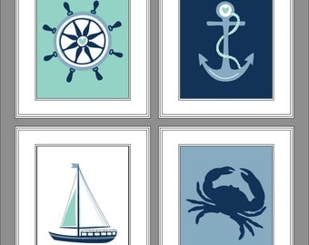 Nautical Nursery Wall Decor nautical wall decor nursery anchor decor sign personalized