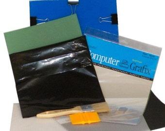 Amazingly Easy DIY Silk Screen Printing Basic Starter Kit, Screen Print At Home