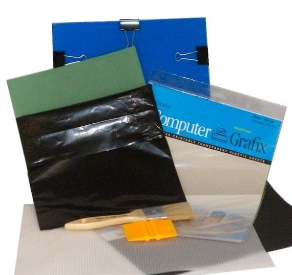 Diy silk screen printing basic standard starter kit for for Diy screen printing t shirts