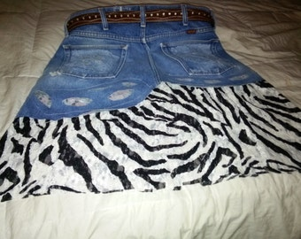 Tutu - Zebra Lace