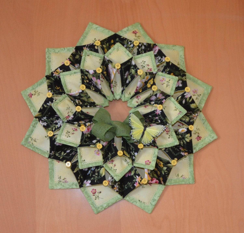 Www Fotoventasdigital Com Diy Burlap Wreath That Folding: Fold'n Stitch Wreath