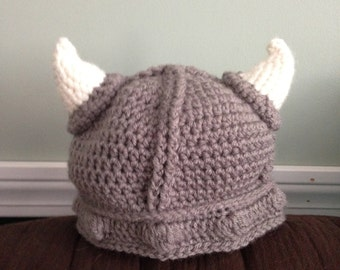 Viking Crocheted Cap
