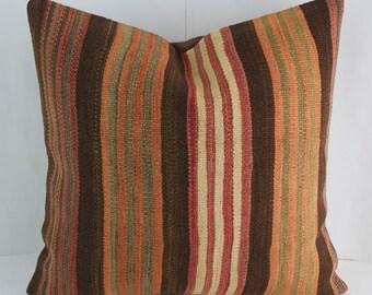 Living Room Decor Sofa  Throw Pillow  Oriental Rug Pillow Interior Design Throw Pillow Sets  Anatolian Turkish Rug Cushion Cover Floor