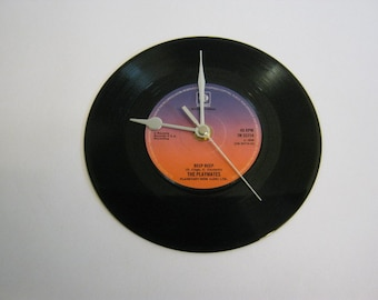 "The Playmates - ""Beep Beep"" Record Wall Clock"
