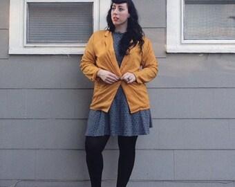 Vintage Mustard Blazer