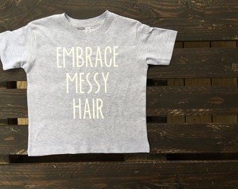 Wmbrace Messy Hair Toddle Tshirt