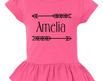 Arrow Ruffle Shirt